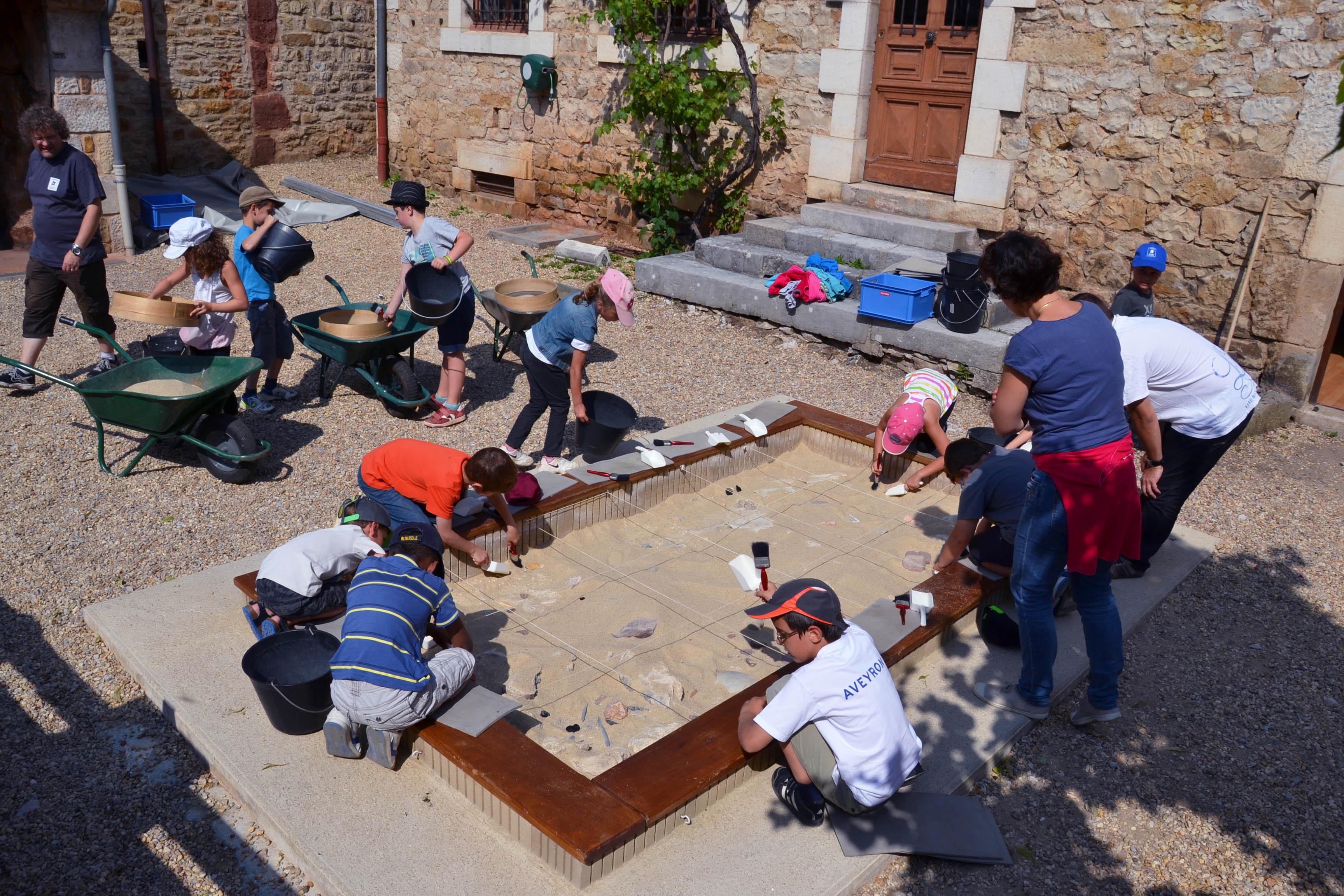 Apprendre l'archéologie